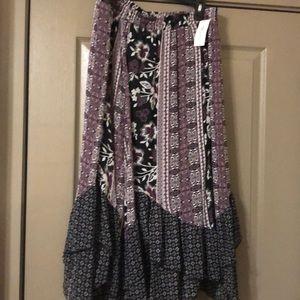 Maxi bohemian skirt